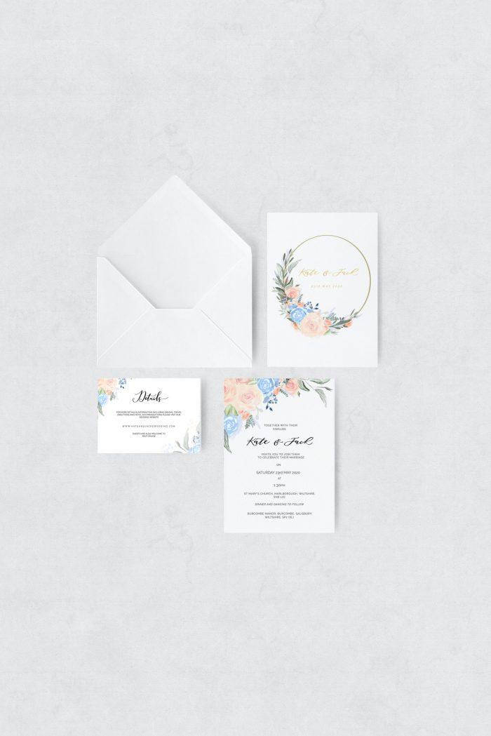 spring bliss invite set
