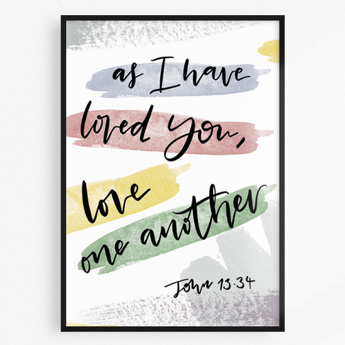 John 13.34 Love one another verse
