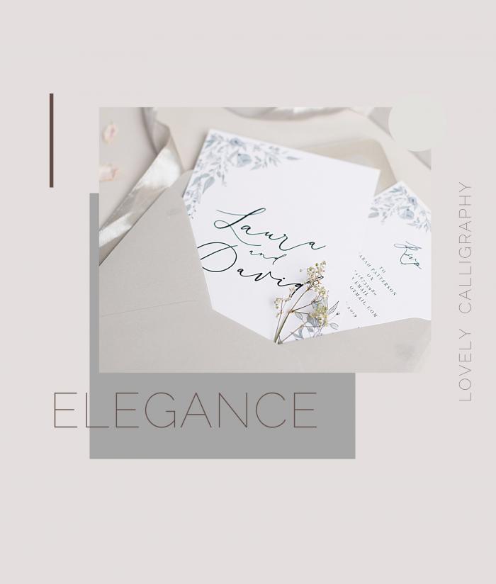 elegance invites