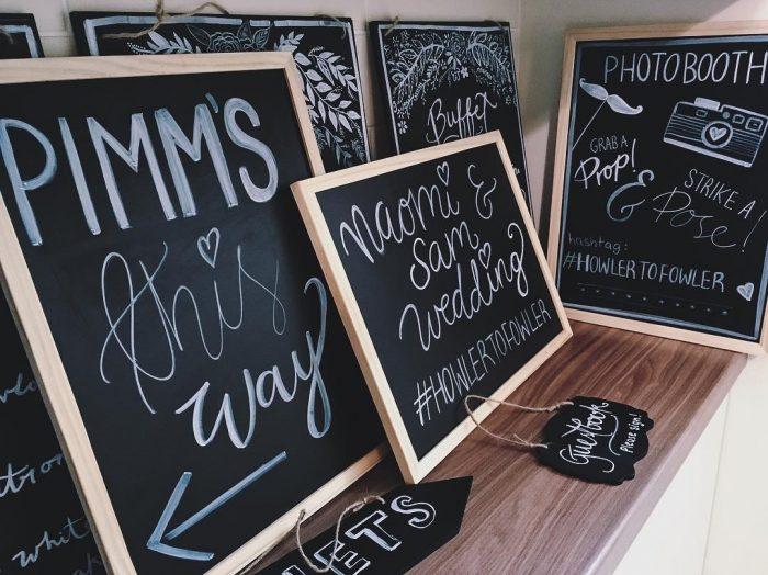 Chalk Signs