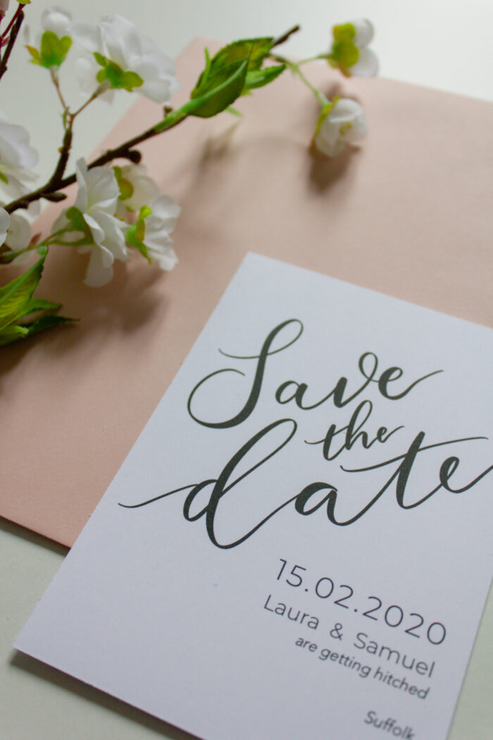 save the date modern dream